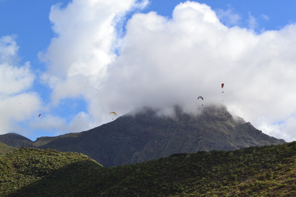 Costa Adeje is a perfect place for paragliding